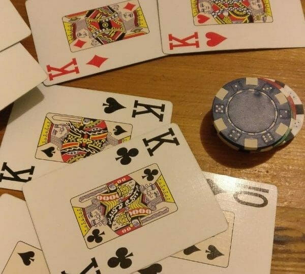 Throwing Down Cards