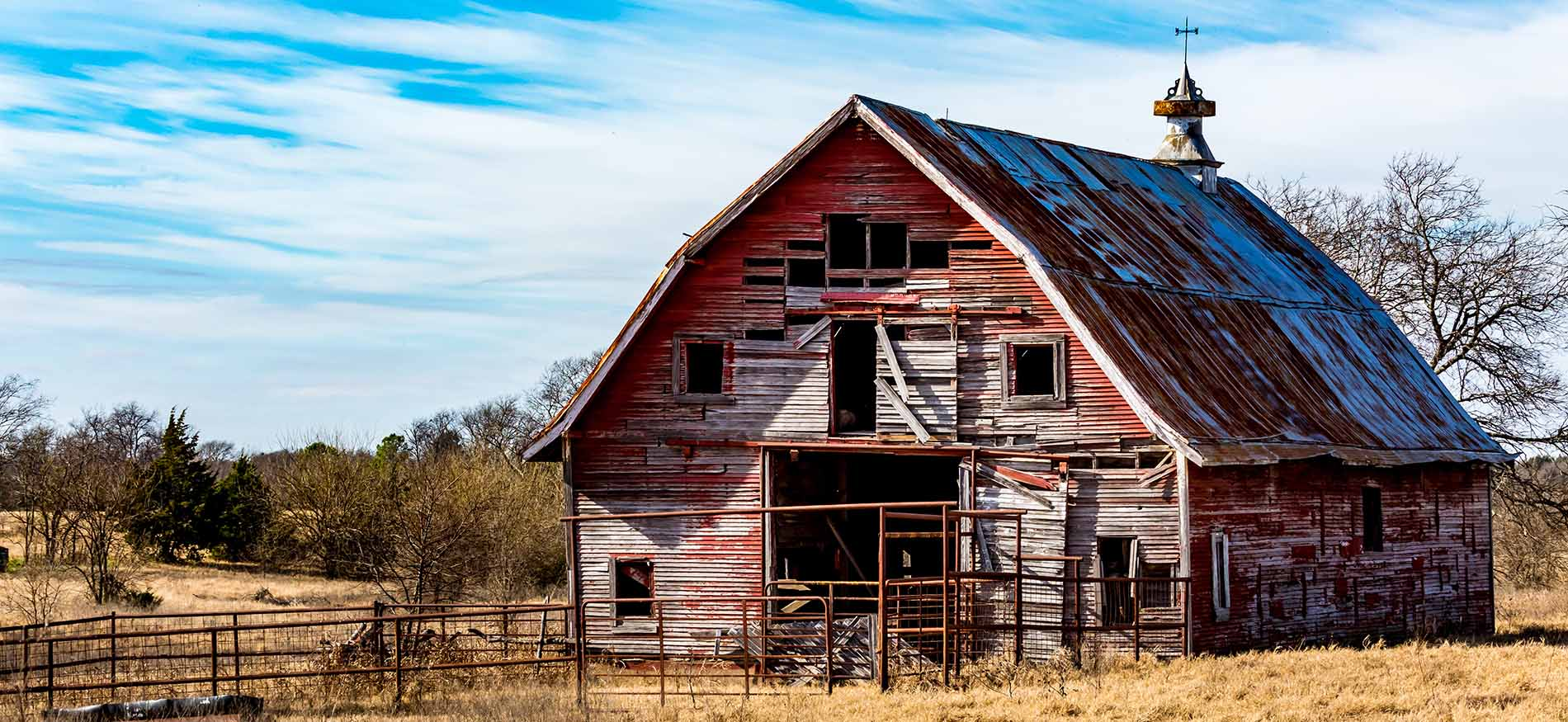 On Collapsing Dairy Barns, by Will Weaver