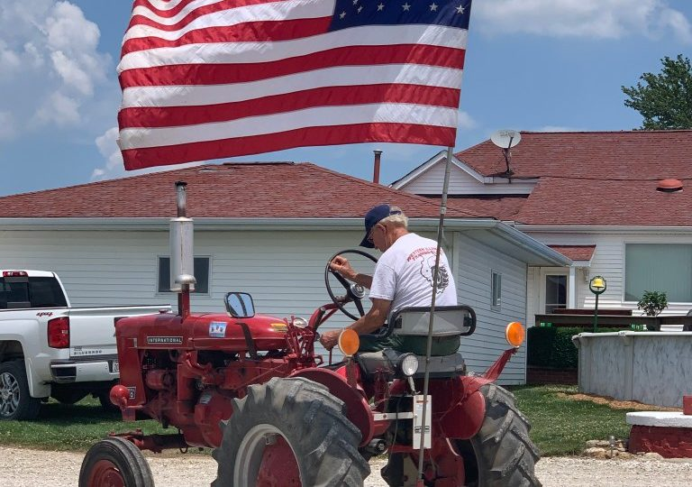 Scenes of the Franklin Tractor Drive, by Cindy Ladage
