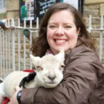 Sally Urwin, sheep farmer and writer from rural England.